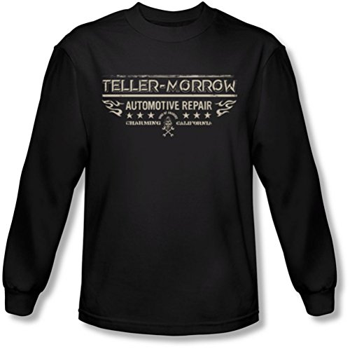 Sons of Anarchy - Sons Of Anarchy - Männer Teller Morrow Longsleeve T-Shirt Black