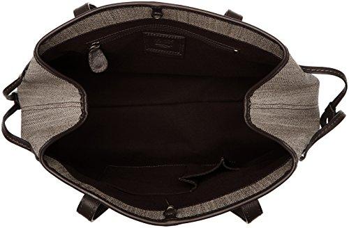 Timberland Tb0m5558, Borsa a Spalla Donna, 20 x 33 x 40 cm (W x H x L) Beige (Dark Rubber)