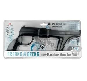 Pistolet 'My-Machine Gun' Wii motion - noir