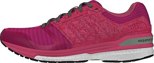 adidas Supernova Sequence 8, Chaussures de sport femme Rosa / Fucsia / Verde