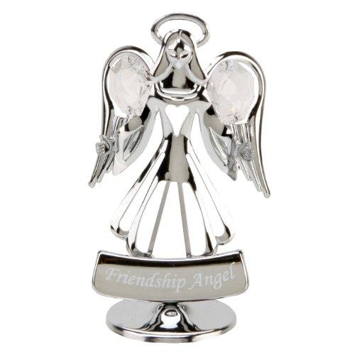 Crystocraft - angelo con cristalli swarovski, amicizia