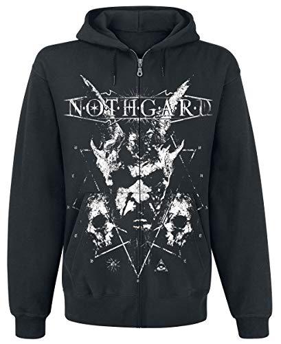Nothgard Death Unites Kapuzenjacke schwarz XL