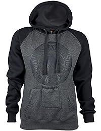 Guinness Official Merchandise - Sweat-shirt à capuche - Homme gris noir/gris