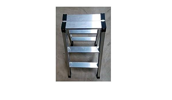 Sgabello pieghevole in alluminio 2 gradini: amazon.it: fai da te
