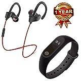 promi electronics M2 Bluetooth Fitness Smart Health Band/Smart Fitness Band with QC-10 Bluetooth