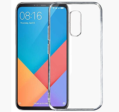 Jkobi® Exclusive Soft Silicone TPU Jelly Crystal Clear Case Soft Back Case Cover For Xiaomi Redmi Note 5 -Transparent  available at amazon for Rs.89