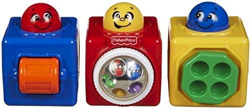 Fisher-Price - Bloques de actividad, grandes, clásicos (Mattel 74121)