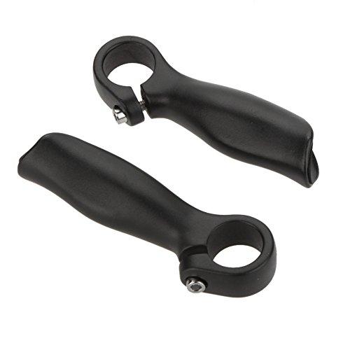 Docooler 2PCS Fahrrad Mountain Bike Fahrrad MTB Lenker Ende Aluminiumlegierung Sicherheit Griffe 22,2 mm (Mountain Bar)