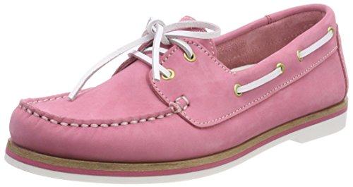Tamaris Damen 23616 Mokassin, Pink (Pink Nubuc), 41 EU