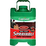 Cuprinol 5L Spray Fence Treatment - Rich Cedar