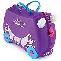 Trunki Valise cabine enfant Ride 46 cm Bleu