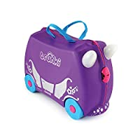 Trunki 'Penelope The Princess' Ride On Suitcase With FREE Tiara & Wand - 0059