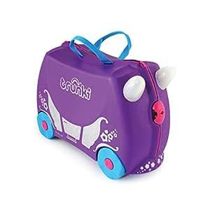 Trunki Ride-on Suitcase - Penelope the Princess (Purple)