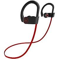 Auricular Bluetooth, Abafia Auriculares Deportivos con CVC 6.0, IPX7 y Micrófono para iPhone X