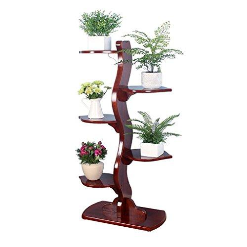 Blumenregal-Balkonmehrschichtmontage-Blumenregalwohnzimmer-Bonsaisregal, justierbare Fußauflage (Verkleiden Tag Ideen)