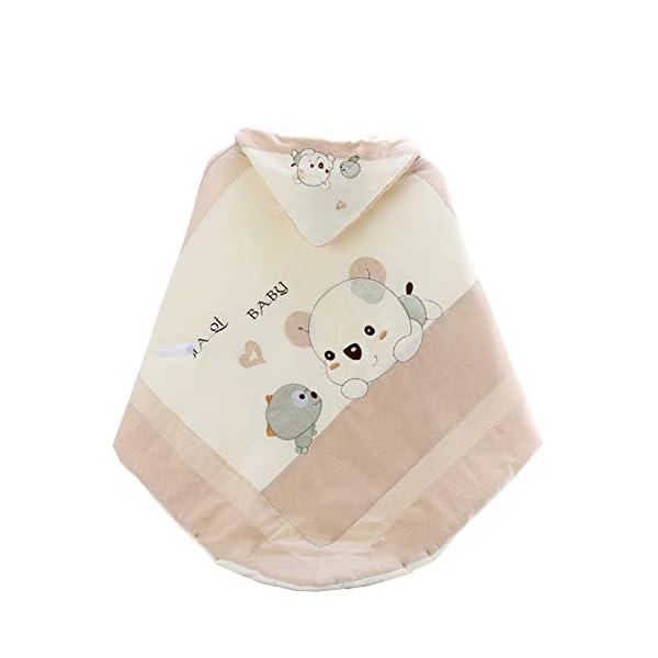 Manta Envolvente Bebé Recien Nacido Saco De Dormir Manta De Arrullo Cobija Algodón Comodidad Acolchada Es Transpirable Y No Tiene Miedo De Resfriarse