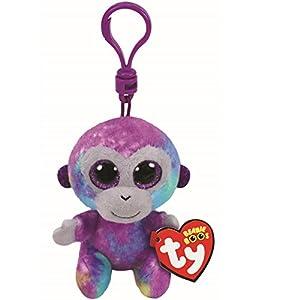 Ty Zuri - Juguetes de Peluche (Mono de Juguete, Multicolor, De plástico, Felpa, 3 año(s), Mono, Niño/niña)