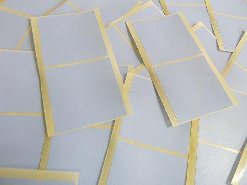 groß 51mm Square Hell Himmelblau Farbcode Sticker, 50 selbstklebende Squares Klebend Farbige Etiketten
