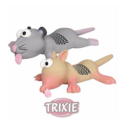 Trixie 35232 Ratte/Maus, Reifenspur, Latex, 22 cm, Farblig Sortiert