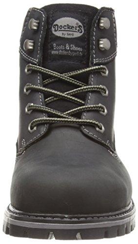 Dockers by Gerli 35CA001-400100 Herren Desert Boots Schwarz (schwarz 100)