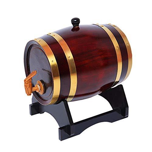 NVRENJIE Rotwein Eiche fass weißwein Barrel red Oak Barrel (fass Wein 3-20l haushalte),American Telephone and Telegraph Company,3l American Telephone
