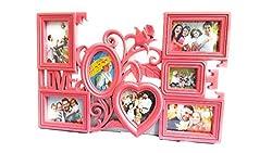 1 Maali Plastic Pink Photo Frame