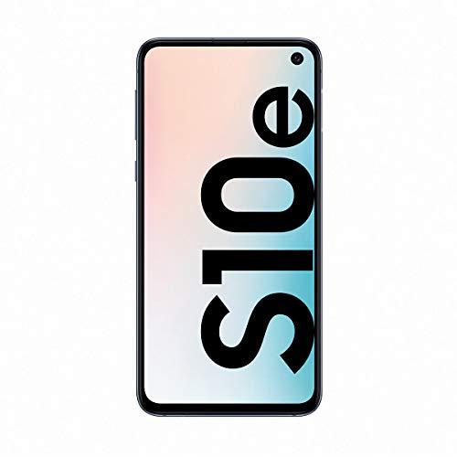 "Samsung Galaxy S10e - Smartphone (128GB, Dual SIM, Pantalla 5.8 ""Full HD + Dynamic AMOLED, 3100mAh (típico)), Negro (Prism Black), [ Versión española]"