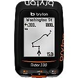 Bryton Rider 330 H - GPS - orange/noir 2016 gps couleur