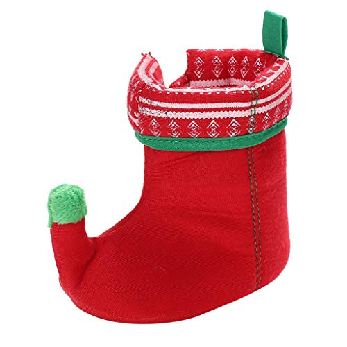 BaojunHT Novelty Christmas Baby Girl Boys Winter Slippers Fleece Warm Boots Childrens Toddler Shoes Infant Newborn Party Gift Present