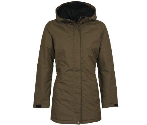 Bergson Outdoor Cappotto invernale ALBA - Donna, Marrone (Beech [229]), 36