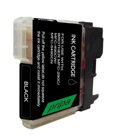 Preisvergleich Produktbild pripa 10 Patronen für BROTHER kompatibel zu LC 1100 bk. Passend zu folgenden Geräten Brother MFC-490 CW MFC-790 CW MFC-5490 CN MFC-5890 CN MFC-6490 CW MFC-6890 CDW. Sie erhalten 10 Patronen schwarz.