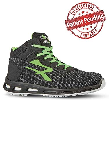U Power Scarpe Antinfortunistiche, Redlion Hard S3 SRC, Taglia 43 EU