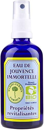 EAU DE JOUVENCE BIO REVITALISANTE 100ML (Immortelle, Myrte et Lentisque)