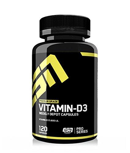 #ESN Vitamin D3, 120 Kapseln (115 g Dose)#