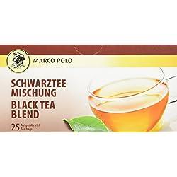 Marco Polo Schwarzteemischung, 25 Teebeutel (1 x 37,5 g)