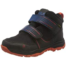 Jack Wolfskin Unisex_Child MTN Attack 3 Texapore MID VC K Outdoor Shoes, Black/Orange, 11.5 UK