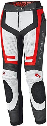 Held Rocket 3.0 Damen Motorrad Lederhose Weiß/Rot 36