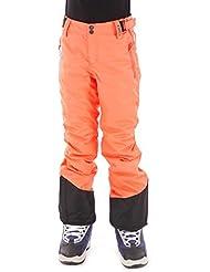 Brunotti Pantalones de esquí invierno snowboard Pantalones Pantalones Lido Rojo Resistente Al Agua Caliente, color rojo, tamaño 12 años (152 cm)