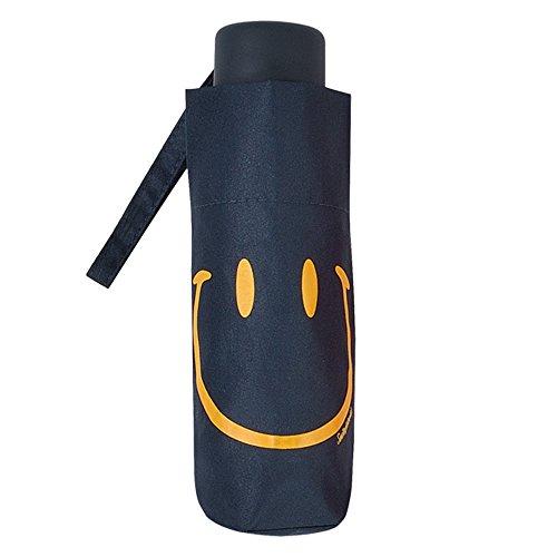 Smiley - Paraguas plegable pequeño - Manual - Ligero