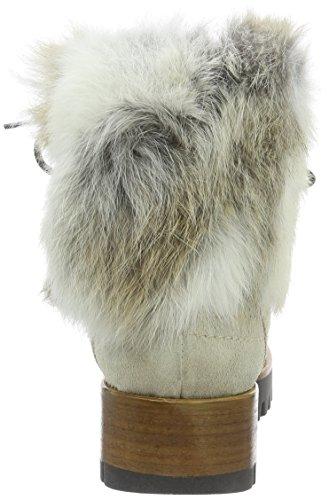 MANAS Damen Aspen Kurzschaft Stiefel Weiß (AVORIO)