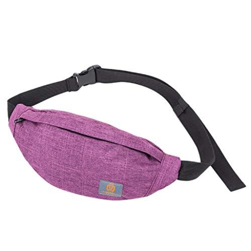Mitlfuny handbemalte Ledertasche, Schultertasche, Geschenk, Handgefertigte Tasche,Einfache, vielseitige Sport-Hüfttaschen für Herren und Damen