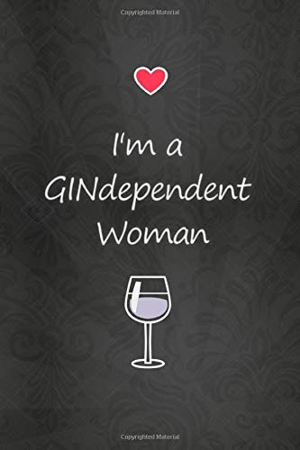 Lined Notebook with Quote - Gin Gifts for Women, Gifts for Gin Lovers (Gag Gifts, Band 250)