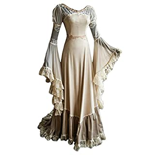Smileshop Sexy Mittelalter Kostüm Luxuriös mittelalterlichen Adels Palast Prinzessin Kleid Halloween Viktorianischen Königin Kostüm Damen L