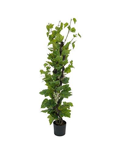 Rebstock mit Trauben 1.60m, Kunstpflanze