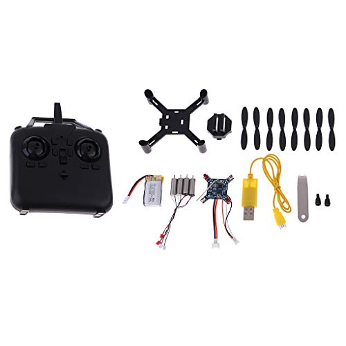 Homyl RC DIY Mini Drone Assembly Model Kit 2.4G Telecomando RC Quadcopter Regali