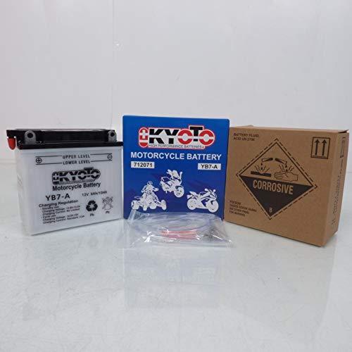 Batterie Moto KYOTO Yb7-a L 137mm W 76mm H 134mm 12v 8ah Acide 0,6l