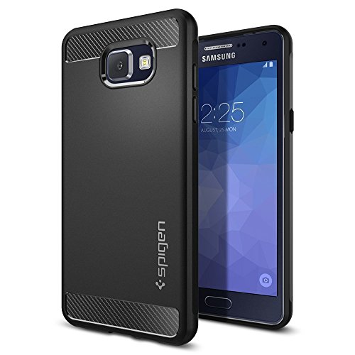 Coque Samsung Galaxy A5 2016 SpigenR Rugged Armor Retablissement Black