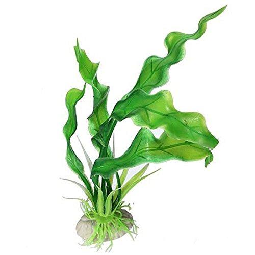 Sanwood® Aquarium Dekoration Grün künstliche Gras Plastik Fisch Tank Ornament Wasser Pflanze (Fisch-aquarium Pflanzen)