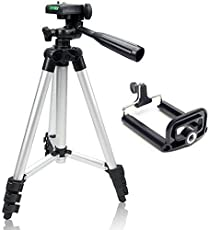 KONARRK 3110 40.2-inch Portable Camera Tripod with 3-dimensional Head and Quick Release Plate for Canon, Nikon and Sony Cameras Camcorders