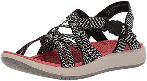 Bare Traps Frauen Flache Sandalen Schwarz Groesse 6 US /37 EU Bare Sandale